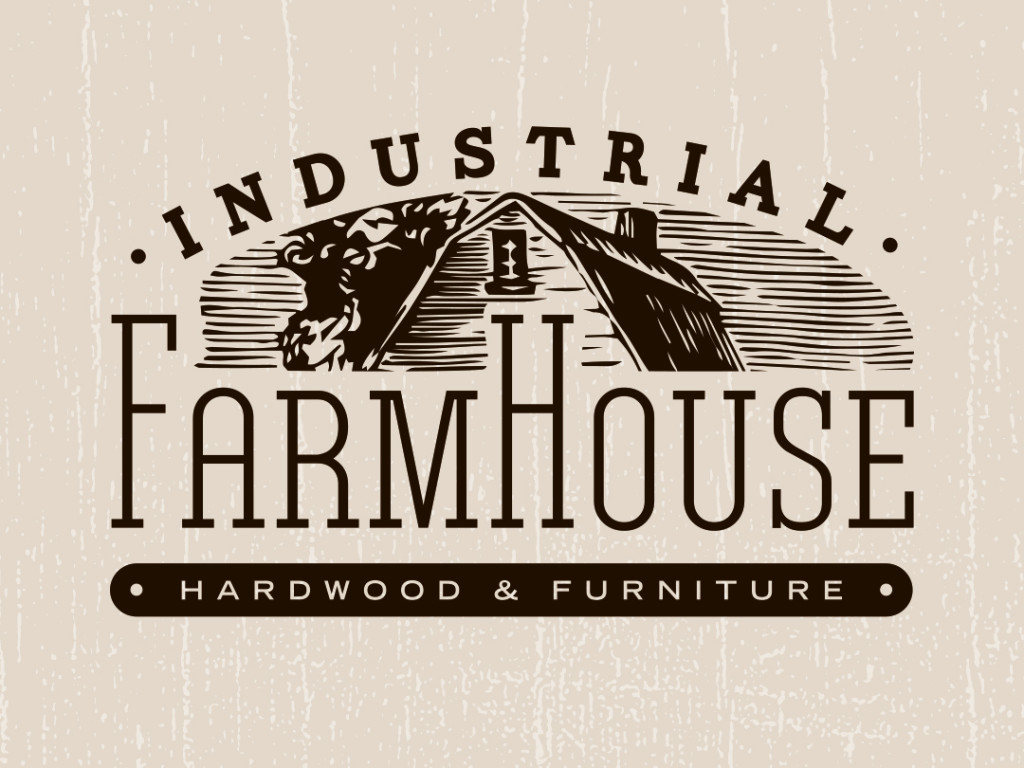 Industrial Farmhouse Logo Design