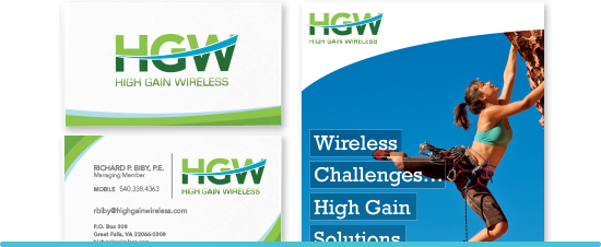 High Gain Wireless Graphic Design
