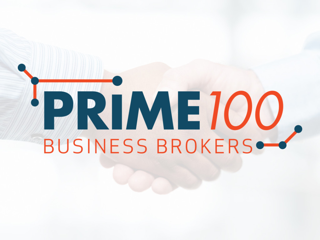 Prime 100 Business Broker Logo