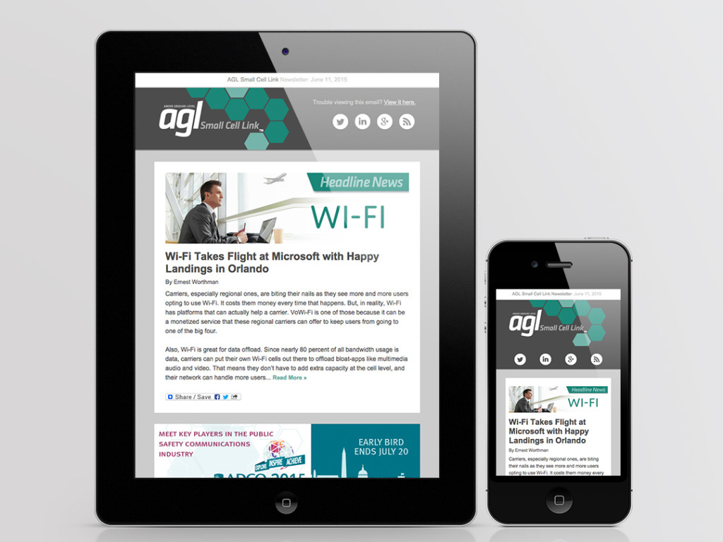 AGL Small Cell Link Newsletter