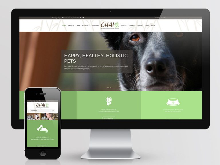 CHAI Website Design