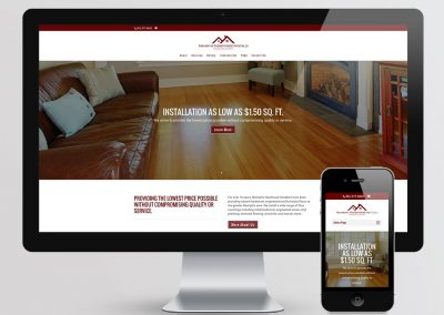 Memphis Hardwood Installs Website