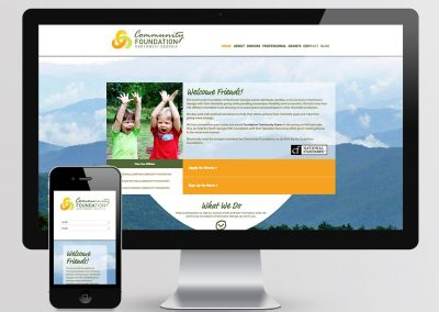Community Foundation of NWGA Website