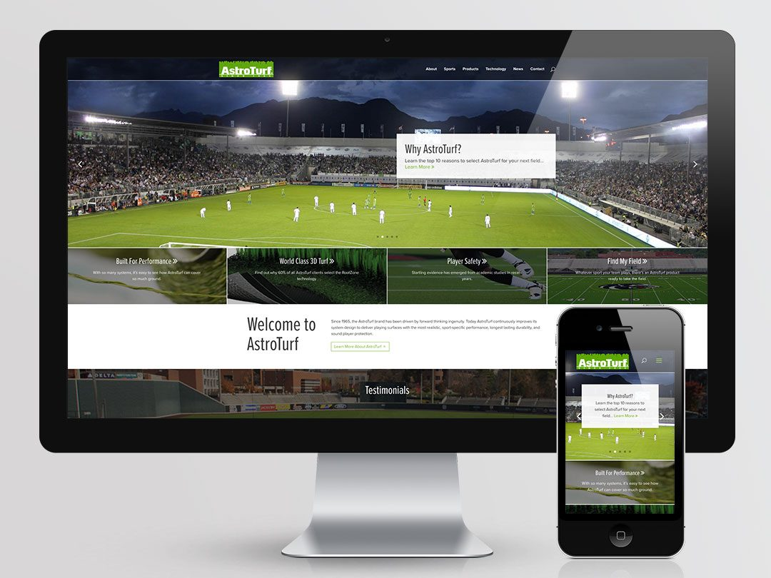 AstroTurf Website Design