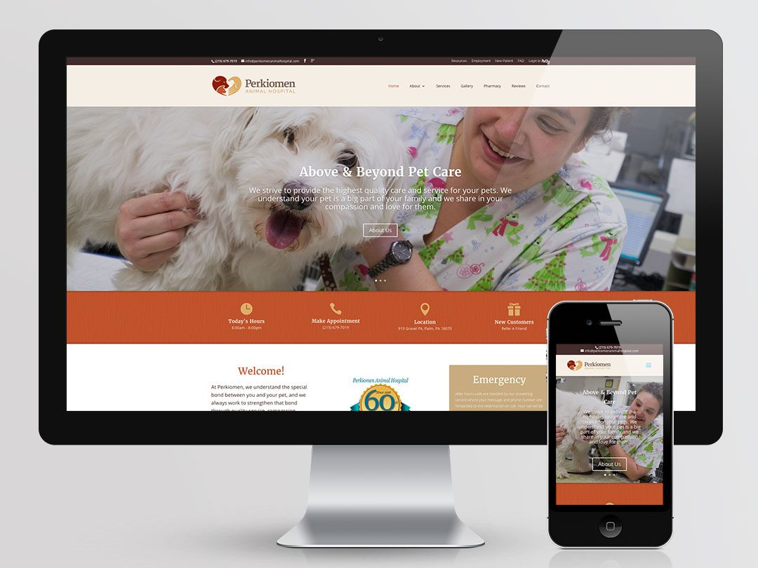 Perkiomen Animal Hospital Website