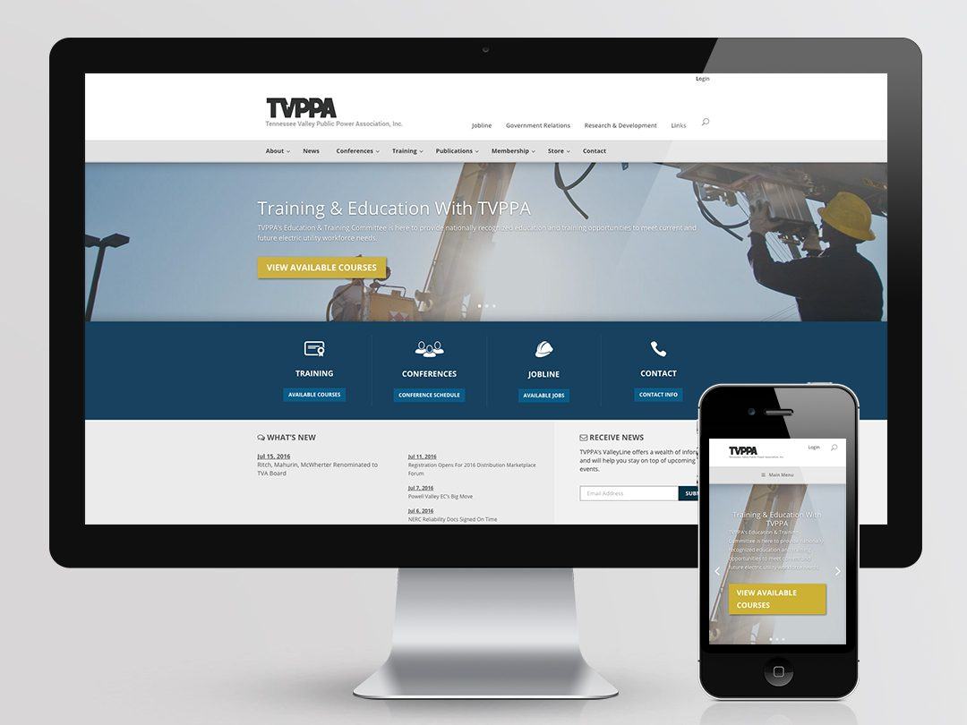 TVPPA Website Design