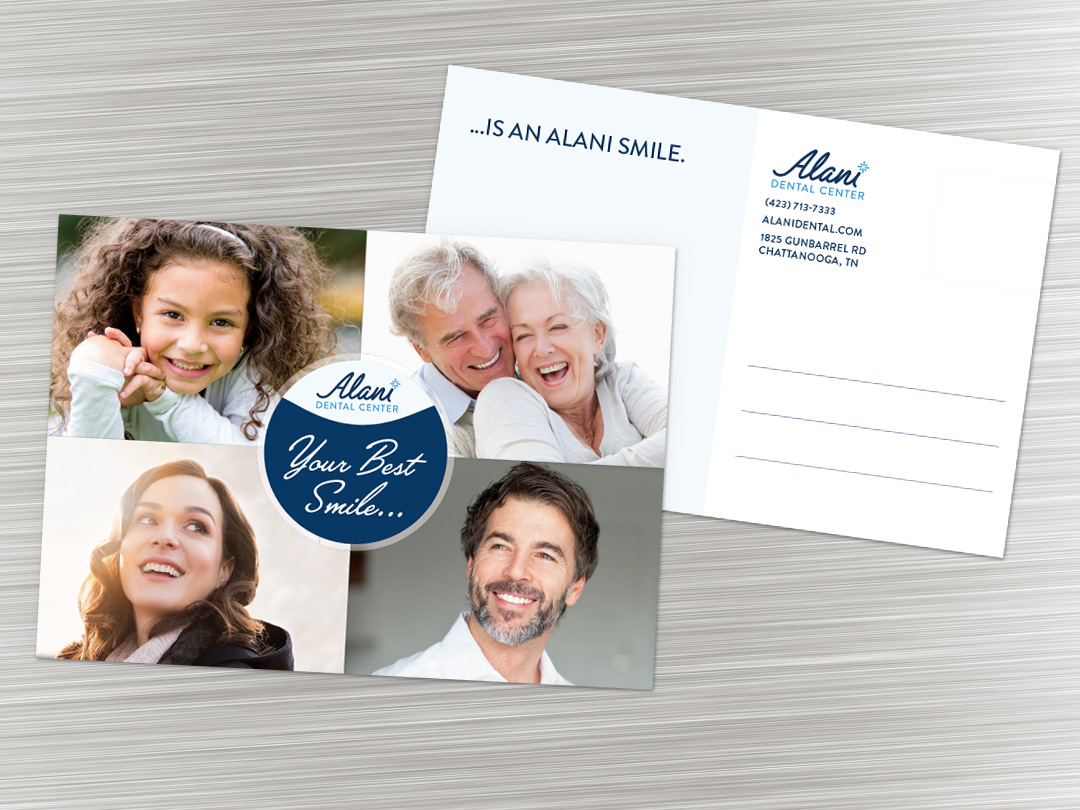 Alani Dental Center Postcard