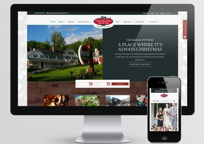 Christmas Farm Inn Website