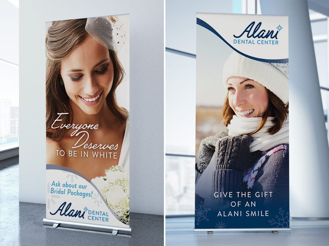Alani Dental Center Banners & Brochures