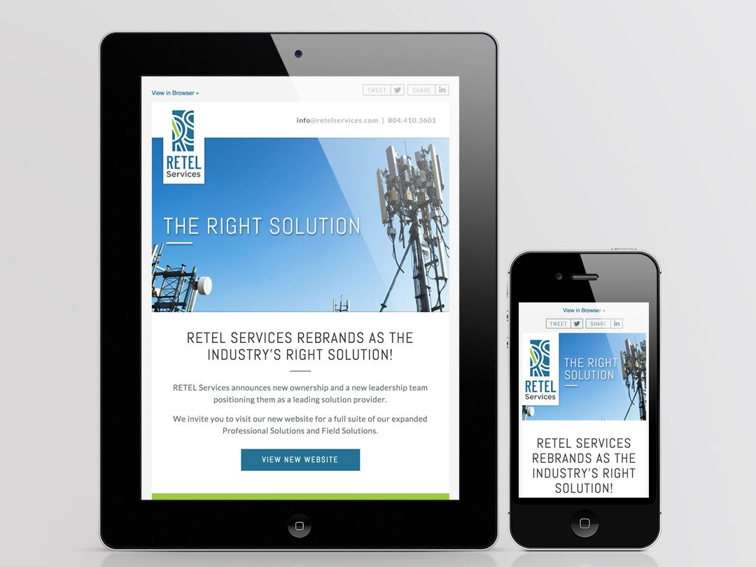 Retel Services eNewsletter