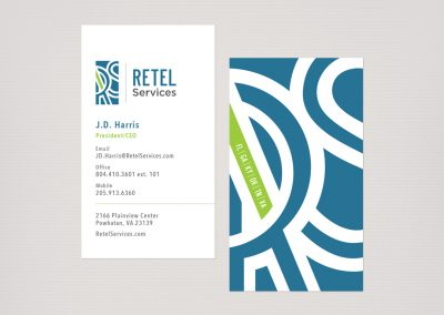 Retel Services Business Cards