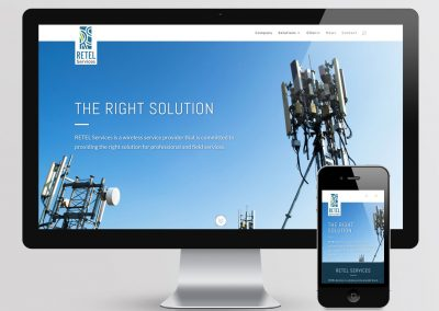Retel Services Website
