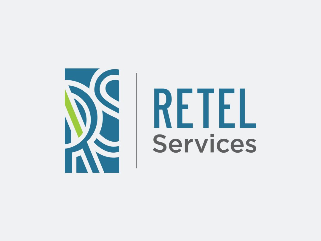 Retel Services Logo Design