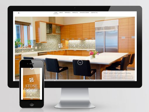 Stone Source Website Design