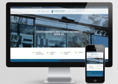 Automatic Doors Website Design