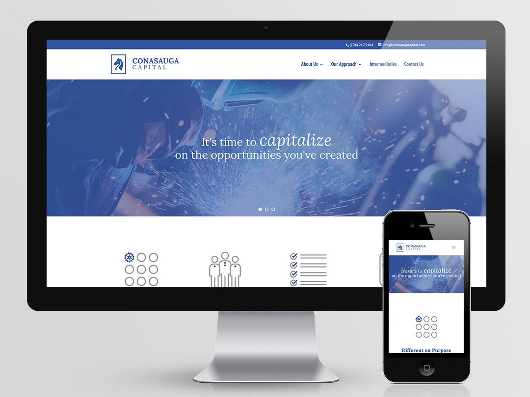 Conasauga Capital Web Design