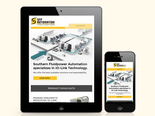 Southern Fluid Power eNewsletter Design