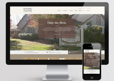 Longwood Veterinary Center Website