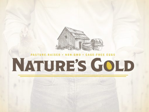 Nature's Gold Eggs Logo