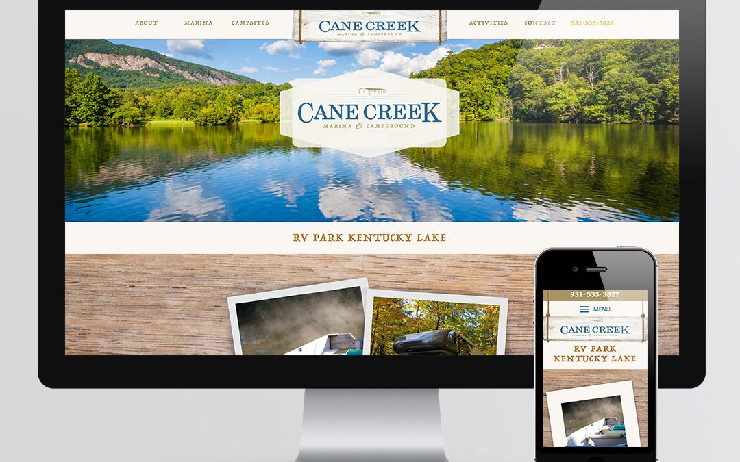 Cane Creek Website Design