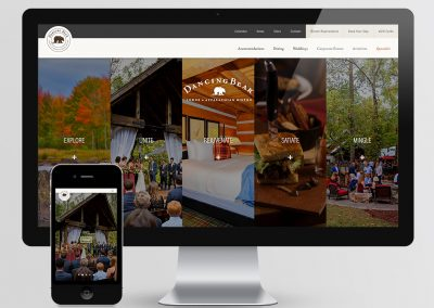 Dancing Bear Lodge Web Design & Development
