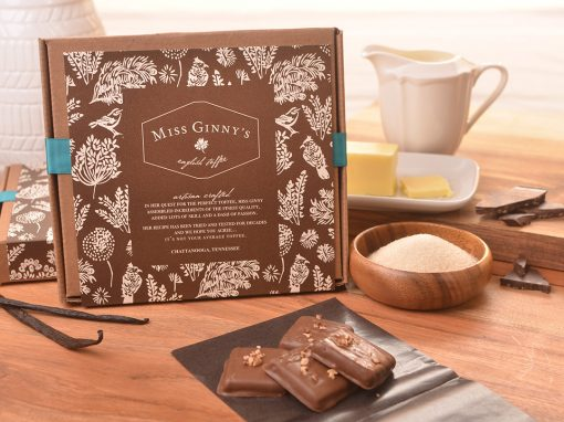 Miss Ginny's English Toffee Photography