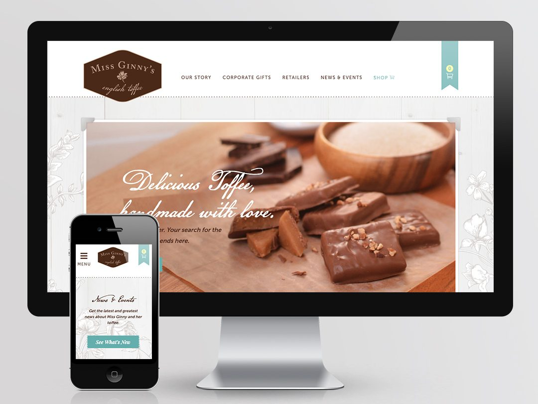Miss Ginny's English Toffee Website
