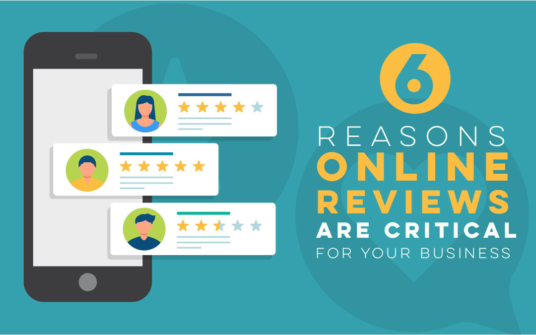 6 Reasons Online Reviews are Critical for Your Business